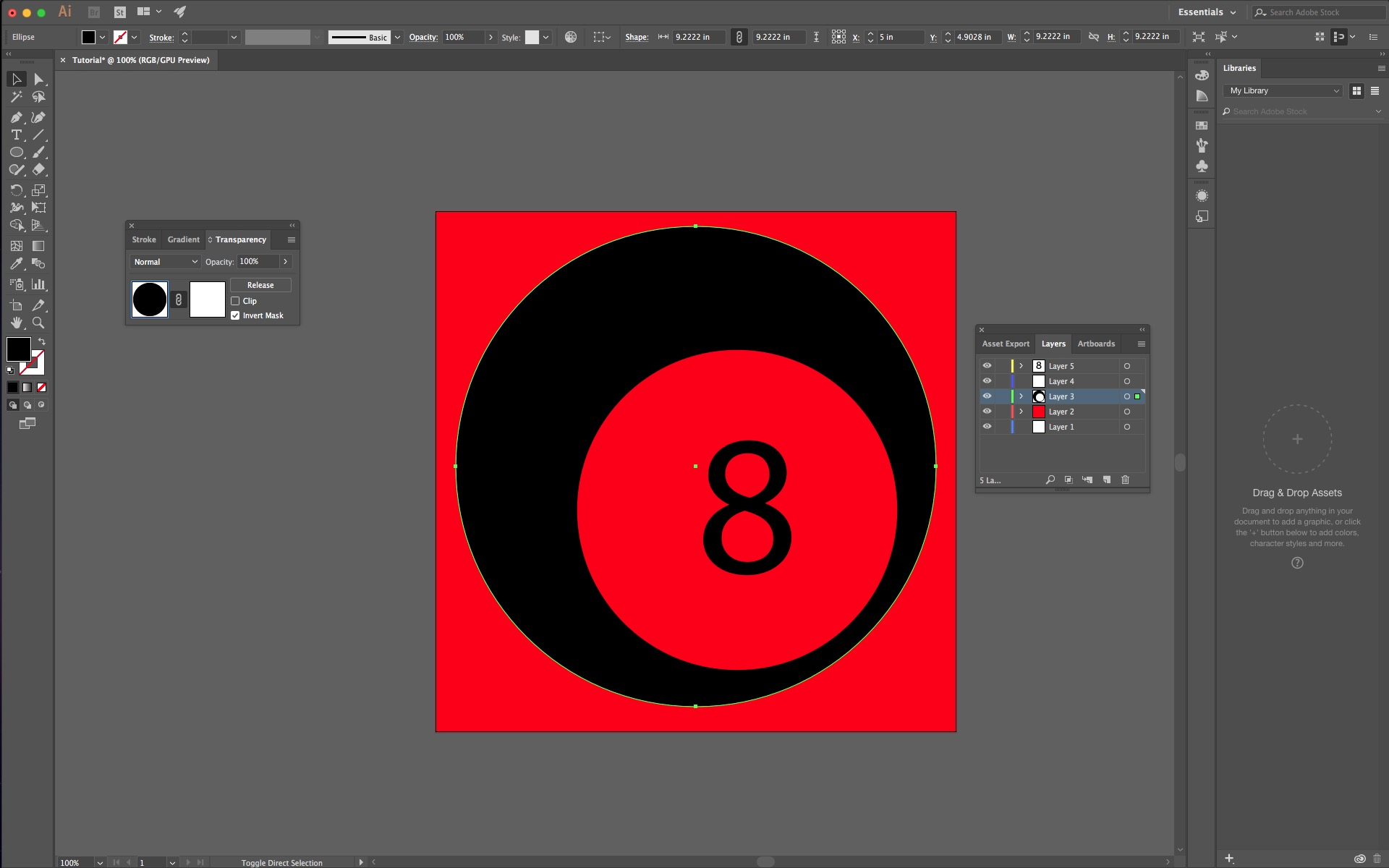 how to add a color background in illustrator